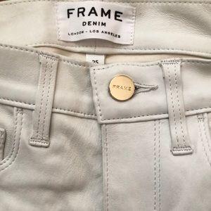 Frame denim brand pants. Size 25.